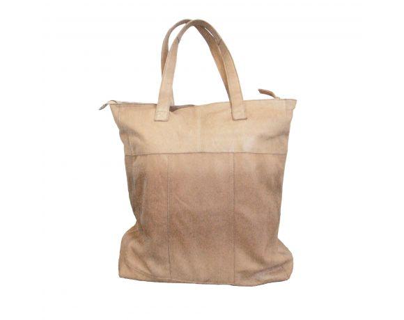 Shopper bag en cuir